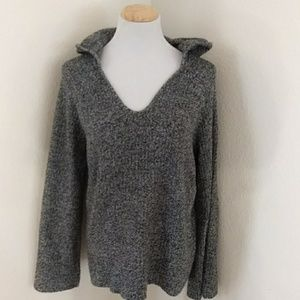 GAP Sweaters - Gap Marbled  Sweater Hoodie Size Large